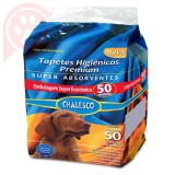 TAPETES HIGIÊNICOS CHALESCO 50 UNIDADES