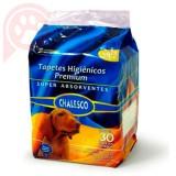 TAPETES HIGI�NICOS CHALESCO 30 UNIDADES